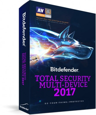 Total Security Multidispositivos 2017 BITDEFENDER TMBD-091 - 3+2 usuarios, 2 año(s), 1500 MB, Multidevice Security
