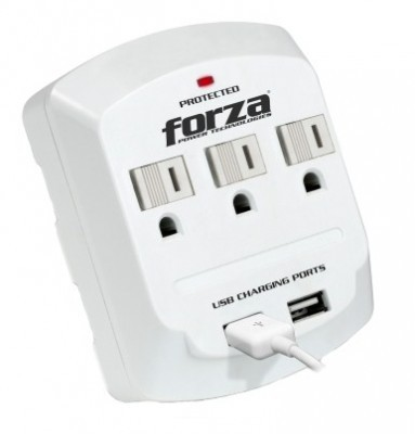 Wall tap FORZA - 300 J, 3, Color blanco