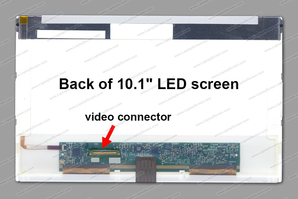 "10.1-inch WideScreen (8.74""x4.92"") WSVGA (1024x600) Matte LED BT101IW03 V.1"