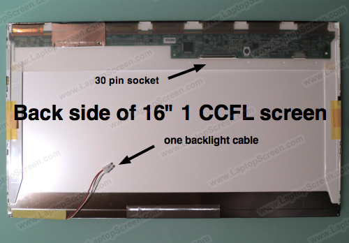 "16-inch WideScreen (14""x7.9"") WXGA (1366x768) HD Glossy CCFL 1-Bulb LTN160AT02-F01"