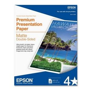 PAPEL DOUBLE SIDED MATTE 50 HOJAS TAM. CARTA 8.5  X 11