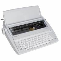 MAQUINA D/ESCRIBIR BROTHER 1 PORTATIL GX-6750SP