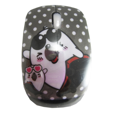 MOUSE FANTASIA USB OSOS PATINETA