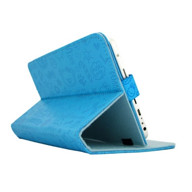 COVER P/TABLET 7'' SENCILLO CUTE AZUL