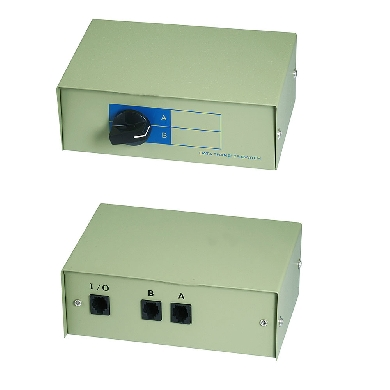 MULTIPLEXOR MANUAL RJ11 HEMBRA 2-1