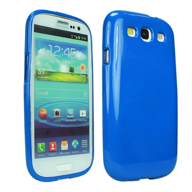CASE GALAXY S3 JELLY CASE AZUL