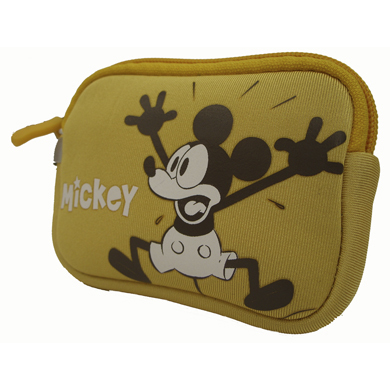 FUNDA CÁMARA DIGITAL MICKEY SLIM AMARILLA