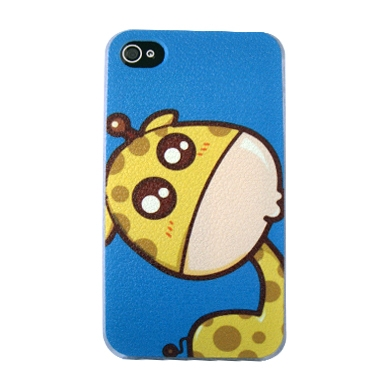 CASE IPHONE 4 CARBONO JIRAFA