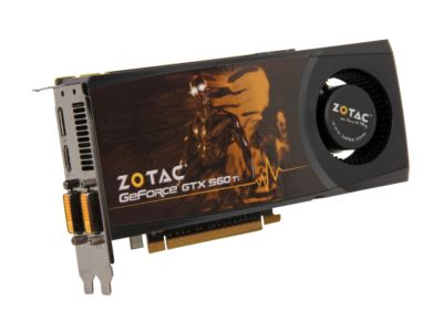ZOTAC ZT-50306-10M GeForce GTX 560 Ti (Fermi) 1GB 256-bit GDDR5 PCI Express 2.0 x16 HDCP Ready SLI Support Video Card