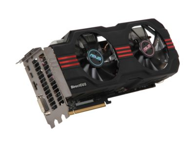 ASUS HD7950-DC2-3GD5 Radeon HD 7950 3GB 384-bit GDDR5 PCI Express 3.0 x16 HDCP Ready CrossFireX Support Video Card