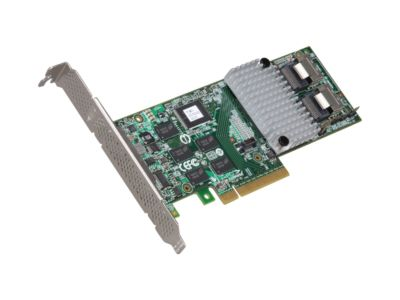3ware Internal 9750-8i SATA/SAS 6Gb/s PCI-Express 2.0 w/ 512MB onboard memory Controller Card, Kit