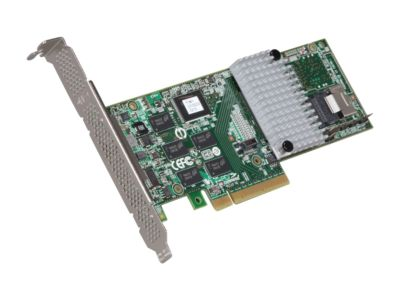 3ware Internal 9750-4i SATA/SAS 6Gb/s PCI-Express 2.0 w/ 512MB onboard memory Controller Card, Kit