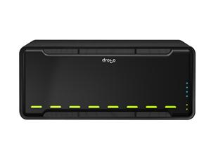 Drobo 2 x 10/100/1000 Mbps Ethernet ports 8 Bay Array DR-B800FS-4A21