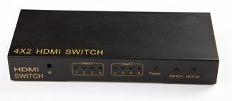 4*2 Matrix HDMI Switcher