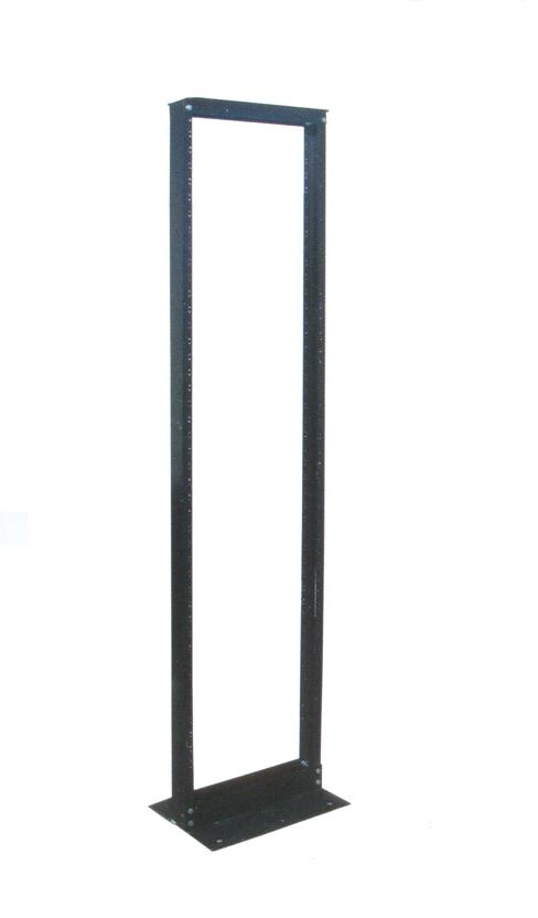 "RACK ALUMINIO 19"" ANCHO Y 7FT  2.10 MTS ALTO"