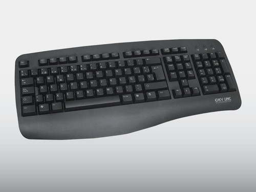 TECLADO ESTANDAR NEGRO WIN 95/98/2000/XP. PS/2