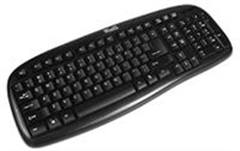 KlipX USB Standard Keyboard Black English
