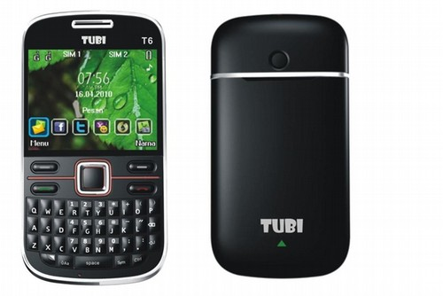 Tubi T6 Red - GMS 850/900/1800/1900 QuadBand DualBand opt.