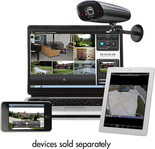 Logitech Alert™ - 750e Outdoor Master Security System with Night Vision
