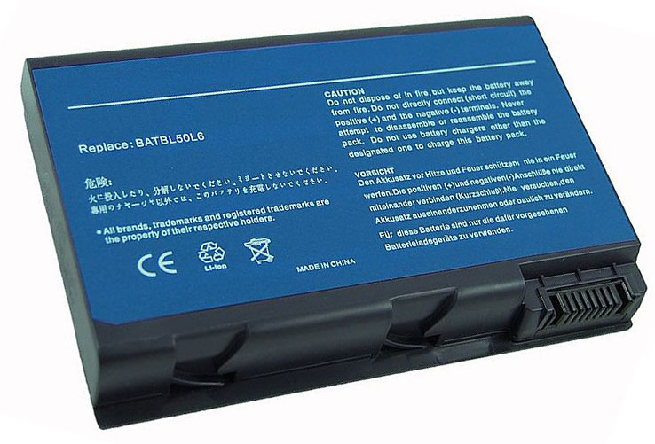 BATCL50L  AR5106LH ENERGY+ BATTERY ACER TM 290 (CL50/CL51) 14.8 VOLTS 4800 MAH