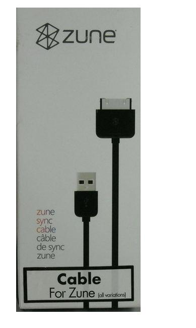Zune original Cable USB de sincronización con PC