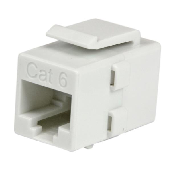 Acoplador Keystone de Cable de Red Ethernet Cat6 RJ45 - Hembra a Hembra